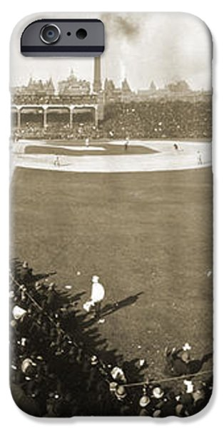 WORLD SERIES, 1906 iPhone Case by Granger