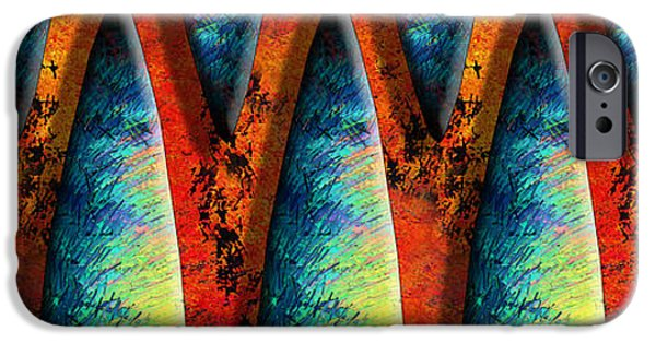 Abstract Digital iPhone Cases - World Wide Web iPhone Case by Paul Wear