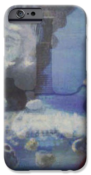 Worlds Merge With Music iPhone Case by ENTON BOOTHE