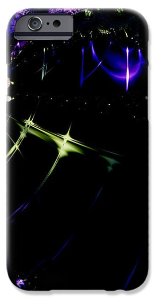 Wormhole Beyond . S4a.S10 iPhone Case by Wingsdomain Art and Photography