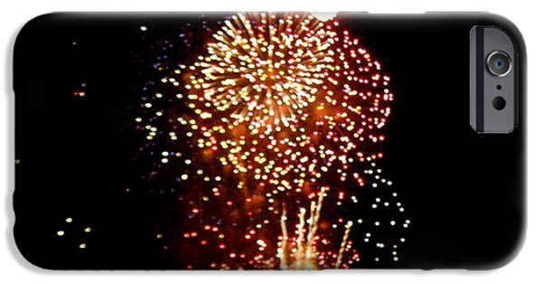 Fourth Of July iPhone Cases - Wow iPhone Case by Nancy Patterson