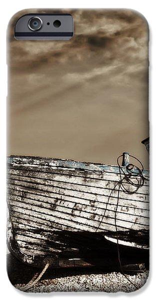 wrecked iPhone Case by Meirion Matthias