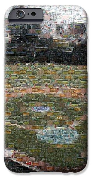 Wrigley Mosaic iPhone Case by David Bearden
