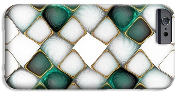 Abstract iPhone Cases - X Marks the Spot iPhone Case by Amanda Moore