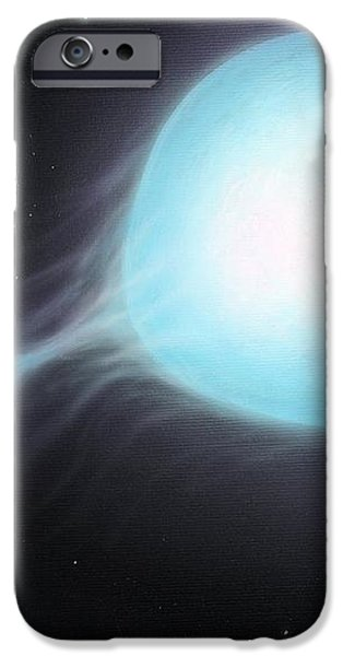 X-ray Binary, Artwork iPhone Case by Richard Bizley
