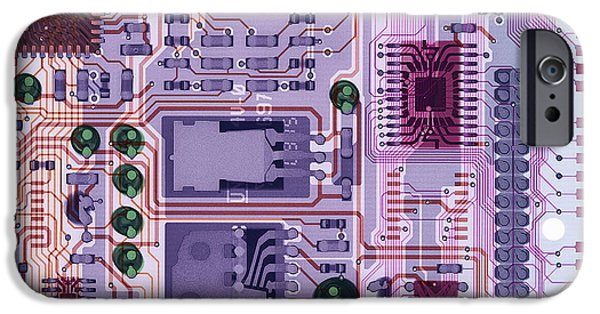 Non-integrated iPhone Cases - X-ray Of Sound Card iPhone Case by D. Roberts