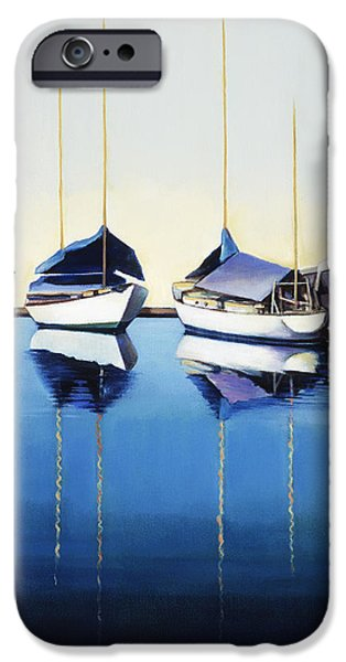 Yacht Harbor iPhone Case by Han Choi - Printscapes