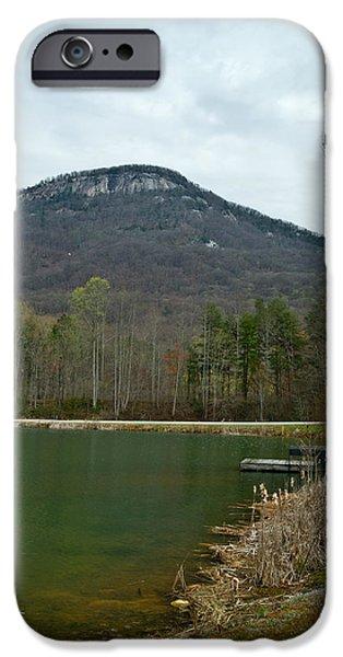 Mastif iPhone Cases - Yanoh Mountain 4 iPhone Case by Douglas Barnett