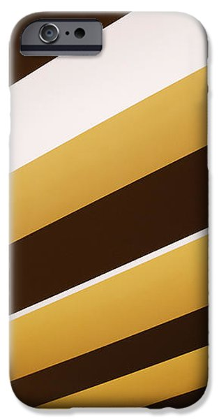Yellow Ceiling Beams iPhone Case by Jeremy Woodhouse