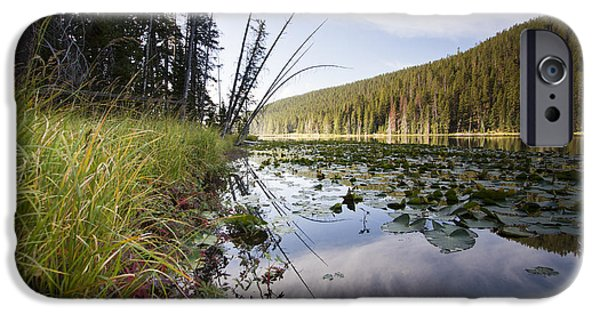 Yellowstone National Park iPhone Cases - Yellowstone Park Reflections iPhone Case by Dustin K Ryan