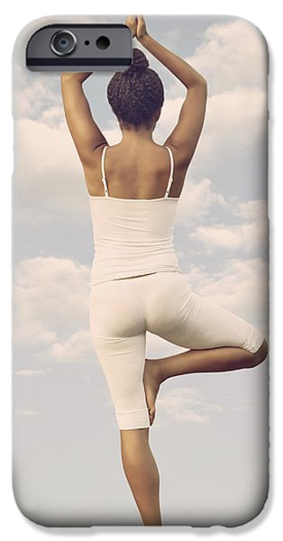 Yoga iPhone Case by Joana Kruse