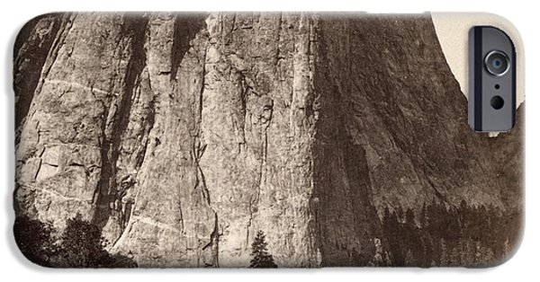 Cathedral Rock iPhone Cases - Yosemite: Cathedral Rock iPhone Case by Granger