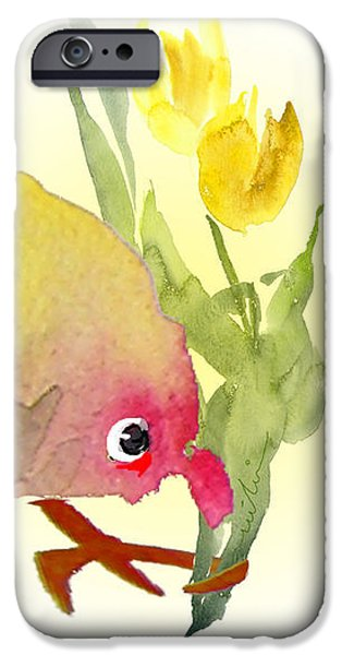 You Are The Cutest Thing Ever iPhone Case by Miki De Goodaboom