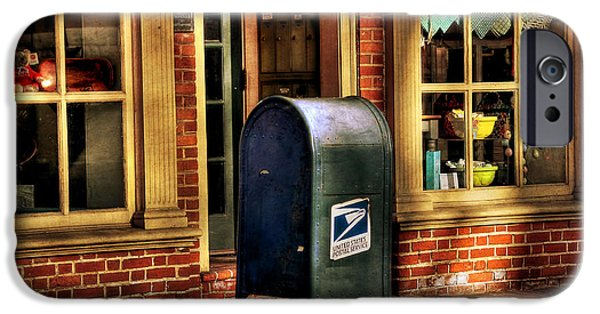 Us Postal Service iPhone Cases - You Got Mail iPhone Case by Todd Hostetter