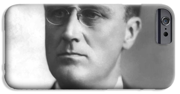 President iPhone Cases - Young Franklin Delano Roosevelt iPhone Case by War Is Hell Store