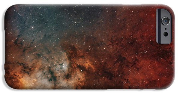 Stellar iPhone Cases - Young Star-forming Complex Ngc 7822 iPhone Case by Rolf Geissinger