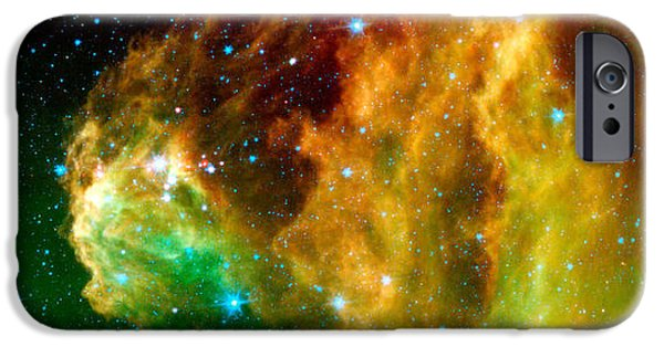 Recently Sold -  - Constellations iPhone Cases - Young Stars Emerge From Orions Head iPhone Case by Nasa
