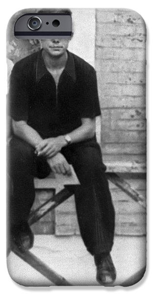 Yuri Gagarin As A Student, 1953 iPhone Case by Ria Novosti