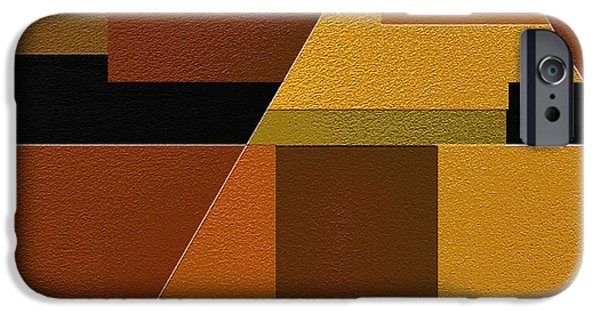 Geometrical Art iPhone Cases - Zeal iPhone Case by Ely Arsha