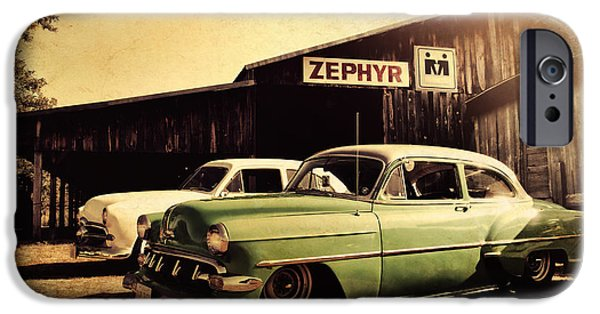 Old Barns iPhone Cases - Zephyr iPhone Case by Joel Witmeyer