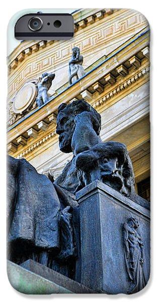 Zeus  iPhone Case by Paul Ward
