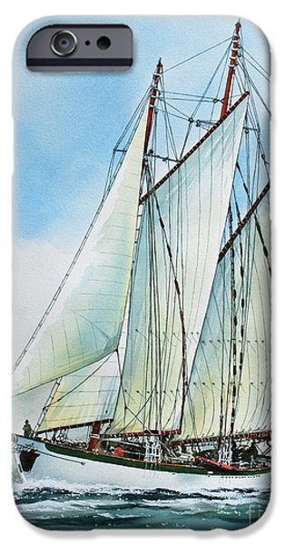 Tall Ship iPhone Cases - Zodiac iPhone Case by James Williamson
