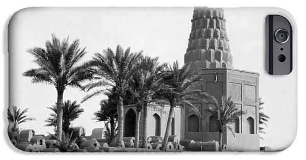 Baghdad iPhone Cases - Zumurrud Khatun Tomb iPhone Case by Granger