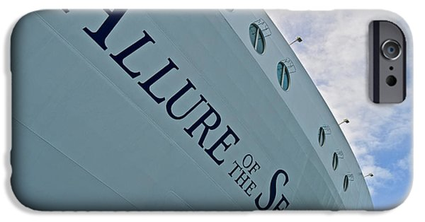 Norway iPhone Cases -  Allure of the seas - Hull iPhone Case by Colin Perkins