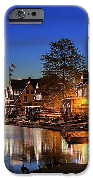 Boathouse Row  iPhone Case by John Greim