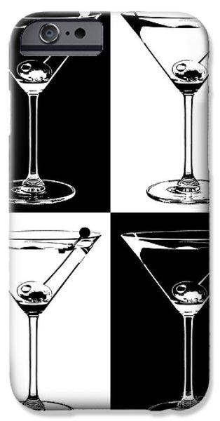 Stir iPhone Cases -  Classic Martini  iPhone Case by Jon Neidert
