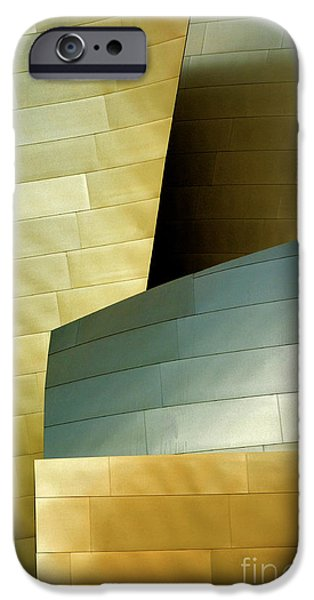 Metal Sheet iPhone Cases -  Disney Concert Hall 8 iPhone Case by Micah May