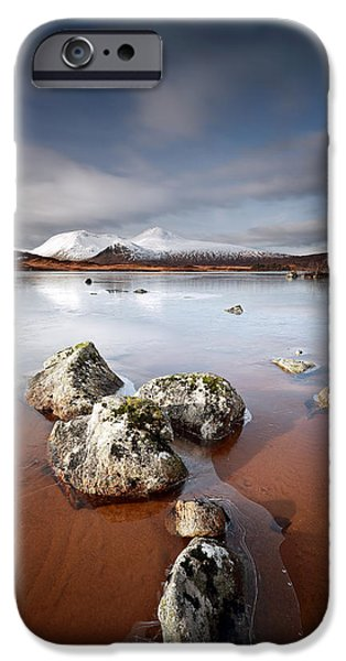 Lochan na h-Achlaise iPhone Case by Grant Glendinning