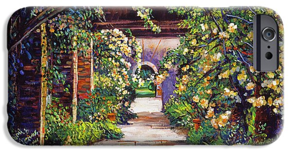 Pathway iPhone Cases -  Memory Lane iPhone Case by David Lloyd Glover