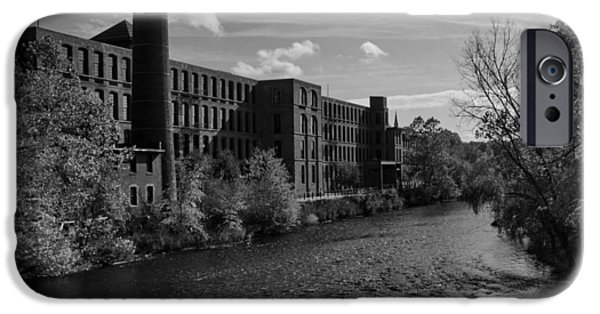 Blackstone River iPhone Cases -  Old Mill iPhone Case by Barry Doherty