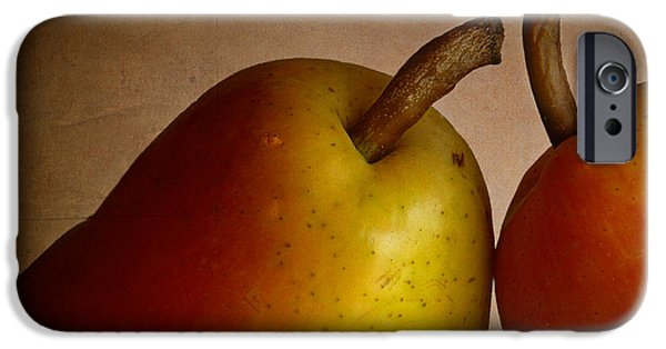 Pears iPhone Cases -  Pair of Pears iPhone Case by David and Carol Kelly