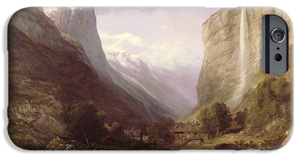 Fall Scenes iPhone Cases -  Swiss Scene iPhone Case by Samuel Jackson