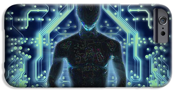 Oracle iPhone Cases -  The Prophet iPhone Case by Francois Domain