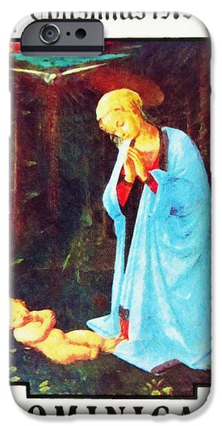 Painter Photographs iPhone Cases -  Virgin and Child by Fra Filippo Lippi iPhone Case by Lanjee Chee