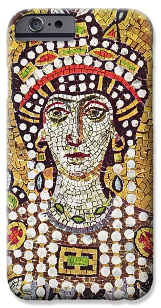 THEODORA (c508-548) iPhone Case by Granger