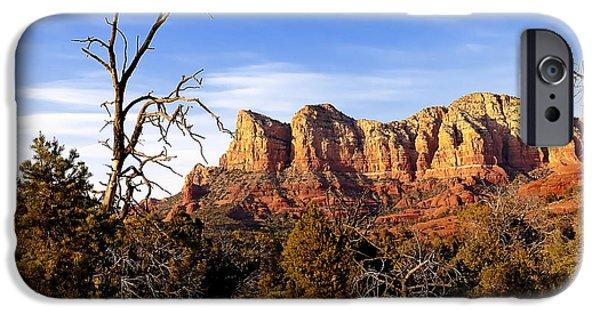 Sedona iPhone Cases - 0999 Sedona Arizona iPhone Case by Steve Sturgill