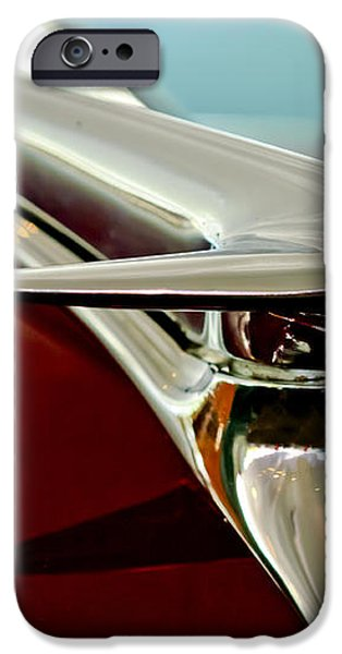 1938 Lincoln Zephyr Hood Ornament iPhone Case by Jill Reger