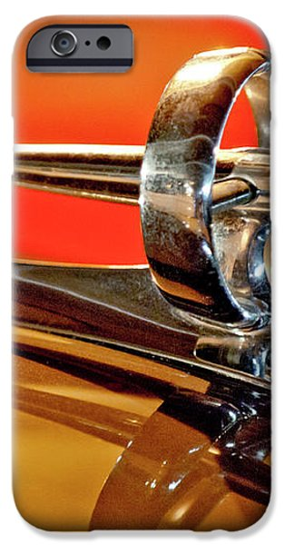 1947 Buick Roadmaster Hood Ornament iPhone Case by Jill Reger