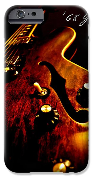 '68 Gibson iPhone Case by Christopher Gaston