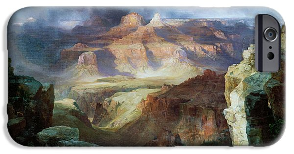 Miracle iPhone Cases - A Miracle of Nature iPhone Case by Thomas Moran