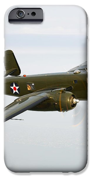 A North American B-25 Mitchell iPhone Case by Scott Germain
