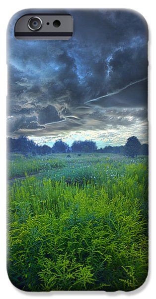 Summer Storm iPhone Cases - A Quiet Reckoning iPhone Case by Phil Koch