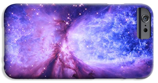 Constellations iPhone Cases - A Star is Born iPhone Case by Johari Smith