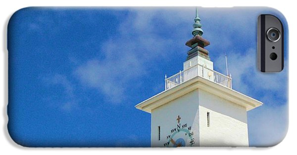 Weathervane Photographs iPhone Cases - All Along the Watchtower iPhone Case by Debbi Granruth