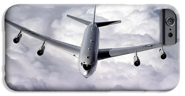 Electronic iPhone Cases - An E-8c Joint Surveillance Target iPhone Case by Stocktrek Images