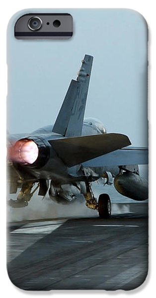 An Fa-18 Hornet Launches iPhone Case by Stocktrek Images